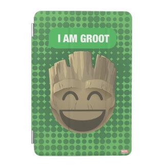 """""""I Am Groot"""" Text Emoji iPad Mini Cover"""