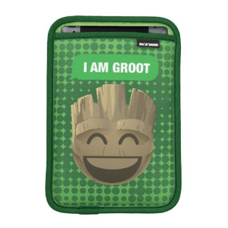 """I Am Groot"" Text Emoji iPad Mini Sleeve"