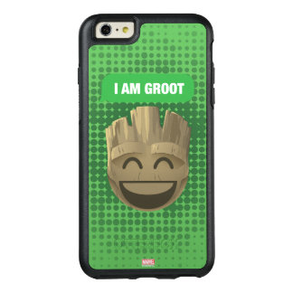 """I Am Groot"" Text Emoji OtterBox iPhone 6/6s Plus Case"
