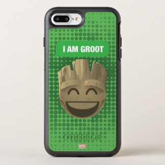 """I Am Groot"" Text Emoji OtterBox Symmetry iPhone 8 Plus/7 Plus Case"
