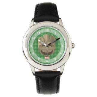 """I Am Groot"" Text Emoji Watch"