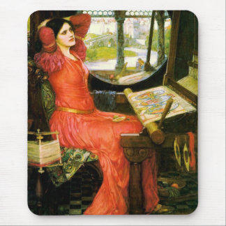 'I am Half-Sick of Shadows' ~ Fine Art Mouse Pad