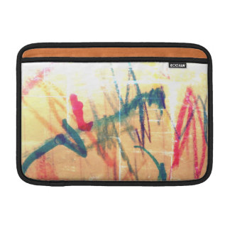 I am happy! sleeve for MacBook air