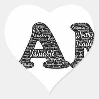 i-am heart sticker