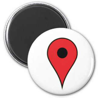 I am here 2 inch round magnet