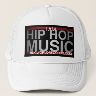 i am hip hop music swag hat thug world records