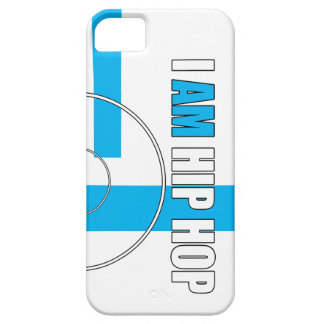 I AM HIP HOP - RECORD & BARZ (WHITE BACKGROUND) iPhone 5 CASES