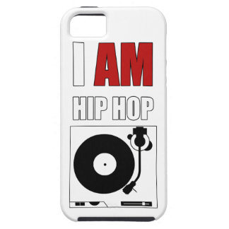 """I AM HIP HOP"" RED LETTER PHONE CASE iPhone 5 CASE"