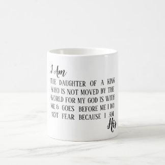 I Am His custom mug