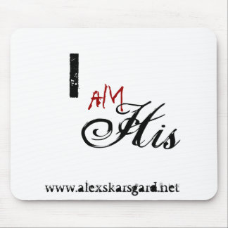 """I am His..."" mousepad"