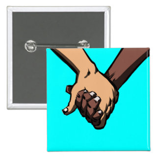 I Am Holding Your Hand by @Chance_Second 2 Inch Square Button
