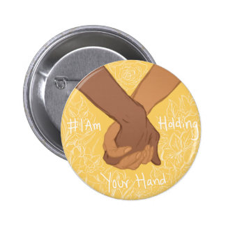 I am Holding Your Hand by @CharlieThisPain 2 Inch Round Button