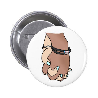 I Am Holding Your Hand by @Mhevet 2 Inch Round Button