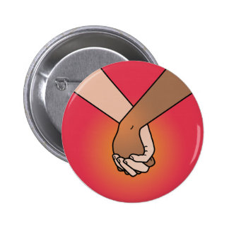 I Am Holding Your Hand (v.1) by Kate Leth 2 Inch Round Button