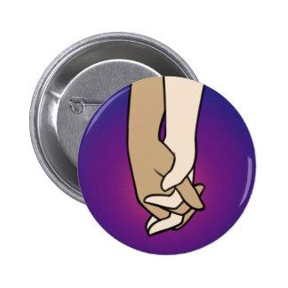 I Am Holding Your Hand (v.1) by @PrincessKatye 2 Inch Round Button