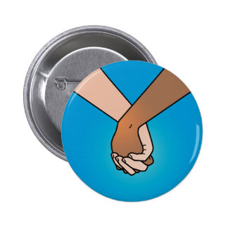 I Am Holding Your Hand (v.2) by Kate Leth 2 Inch Round Button