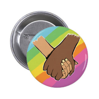 I Am Holding Your Hand (v.2) by Kim Wakeford 2 Inch Round Button