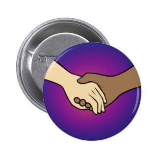 I Am Holding Your Hand (v.2) by @PrincessKatye 2 Inch Round Button