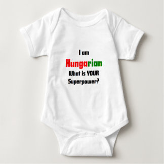 I am Hungarian Baby Bodysuit
