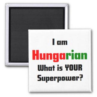 I am Hungarian Square Magnet