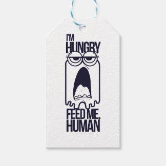 i am hungry feed me human gift tags