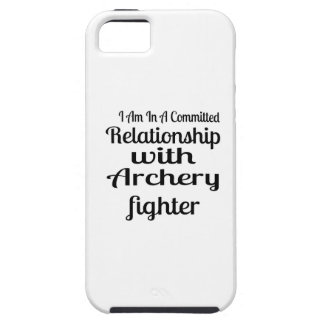 I Am In A Committed Relationship With Archery Figh iPhone 5 Cover