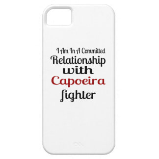 I Am In A Committed Relationship With Capoeira Fig iPhone 5 Case