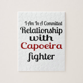 I Am In A Committed Relationship With Capoeira Fig Jigsaw Puzzle