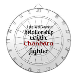 I Am In A Committed Relationship With Chanbara Fig Dartboard