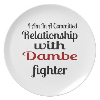 I Am In A Committed Relationship With Dambe Fighte Plate