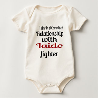 I Am In A Committed Relationship With Iaido Fighte Baby Bodysuit