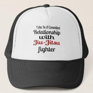 I Am In A Committed Relationship With Jiu-Jitsu Fi Trucker Hat