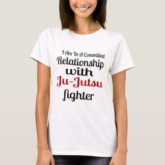 I Am In A Committed Relationship With Ju-Jutsu Fig T-Shirt
