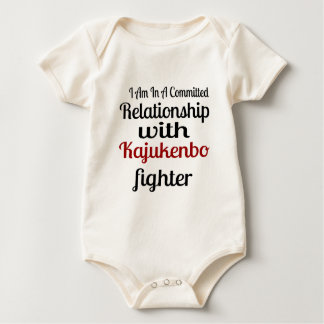 I Am In A Committed Relationship With Kajukenbo Fi Baby Bodysuit