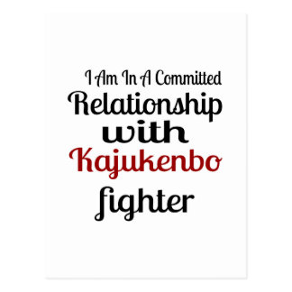 I Am In A Committed Relationship With Kajukenbo Fi Postcard