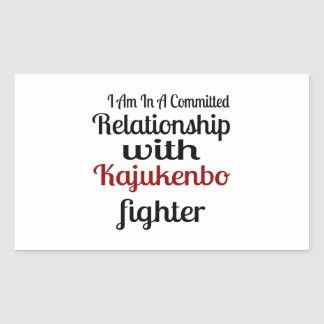 I Am In A Committed Relationship With Kajukenbo Fi Sticker