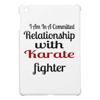 I Am In A Committed Relationship With Karate Fight Case For The iPad Mini