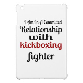 I Am In A Committed Relationship With kickboxing F iPad Mini Case