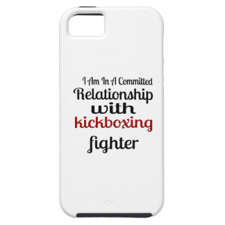 I Am In A Committed Relationship With kickboxing F iPhone 5 Cases