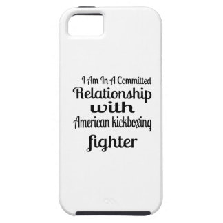 I Am In American kickboxing Committed Relationship iPhone 5 Case