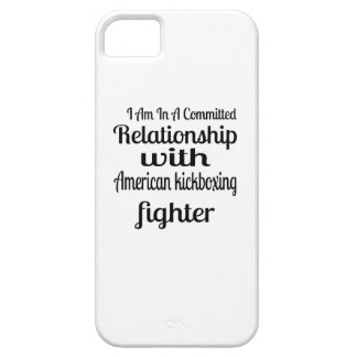 I Am In American kickboxing Committed Relationship iPhone 5 Covers