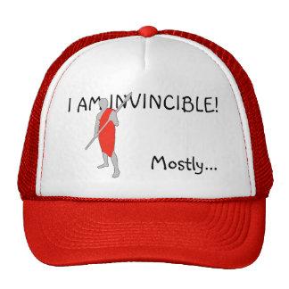 I AM INVINCIBLE! TRUCKER HAT