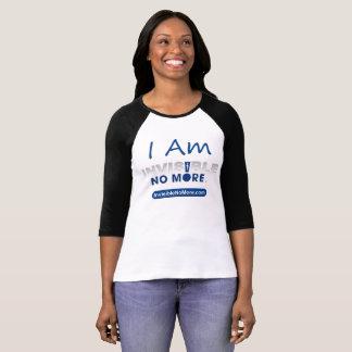 I Am Invisible No More - Raglan Women's Shirt