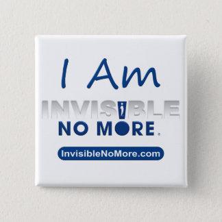 I Am Invisible No More - Square Button