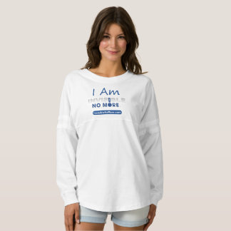 I Am Invisible No More - Women's Jersey Shirt
