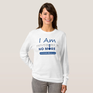 I Am Invisible No More - Women's Long Sleeve Shirt