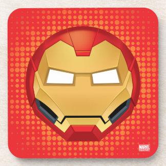 """I Am Iron Man"" Emoji Coaster"