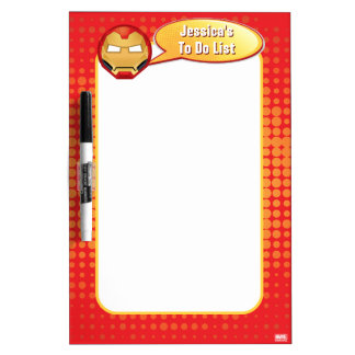 """I Am Iron Man"" Emoji Dry Erase Board"