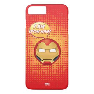 """""""I Am Iron Man"""" Emoji iPhone 8 Plus/7 Plus Case"""