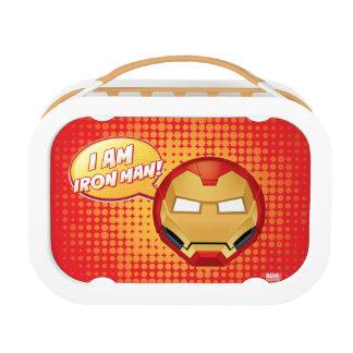 """""""I Am Iron Man"""" Emoji Lunch Box"""